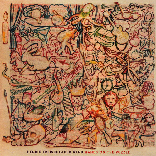 Caratula para cd de Henrik Freischlader Band - Hands On The Puzzle