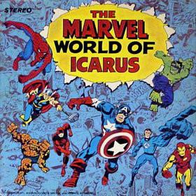 Caratula para cd de Icarus  - The Marvel World Of Icarus