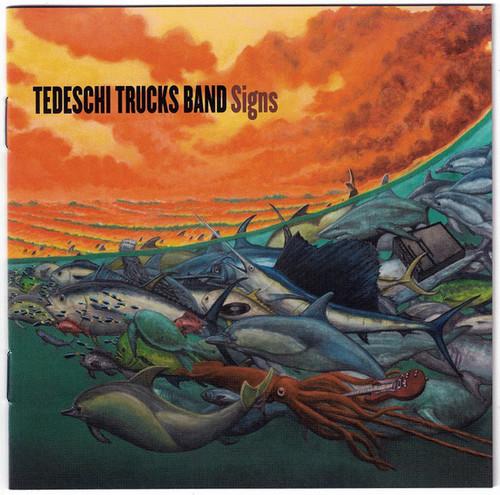 Caratula para cd de Tedeschi Trucks Band - Signs