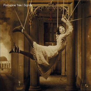 Caratula para cd de Porcupine Tree - Signify