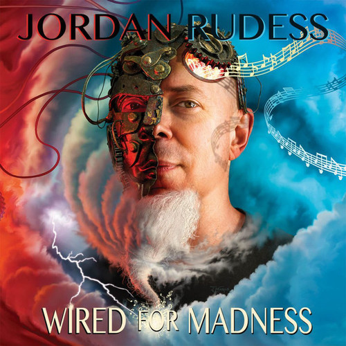 Caratula para cd de Jordan Rudess - Wired For Madness