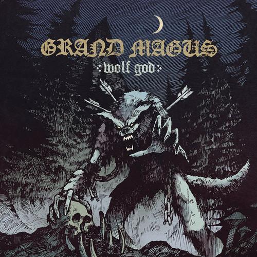 Caratula para cd de Grand Magus - Wolf God