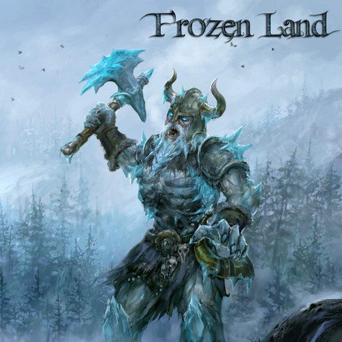 Caratula para cd de Frozen Land  - Frozen Land