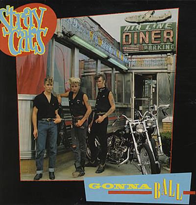 Caratula para cd de Stray Cats - Gonna Ball