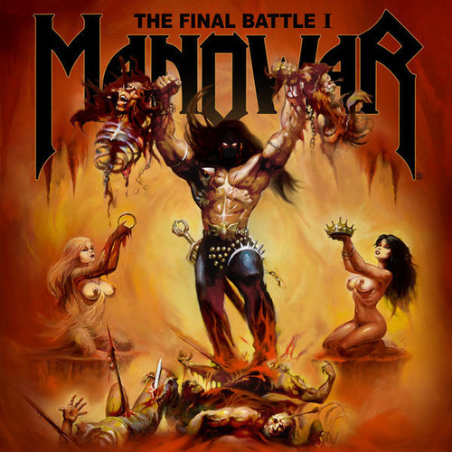 Caratula para cd de Manowar - The Final Battle I Ep