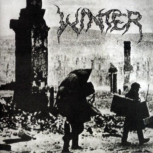 Caratula para cd de Winter  - Into Darkness