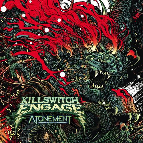 Caratula para cd de Killswitch Engage - Atonement