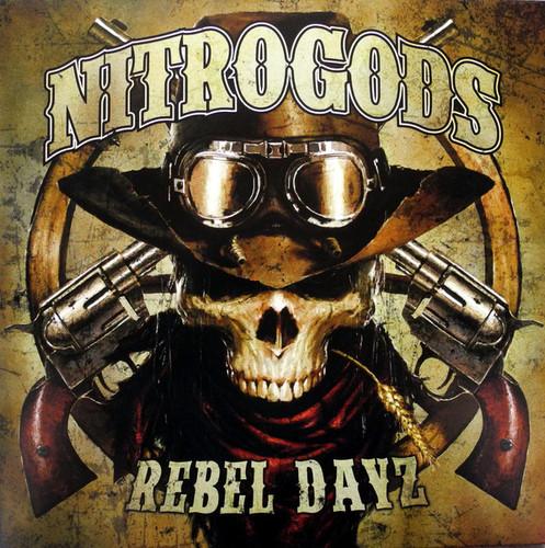 Caratula para cd de Nitrogods - Rebel Dayz