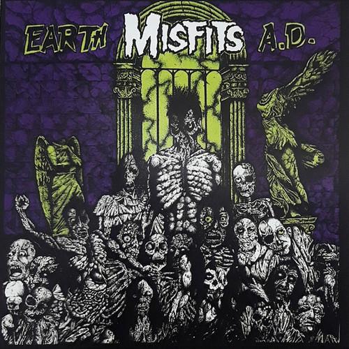 Caratula para cd de Misfits - Earth A.D. / Wolfs Blood