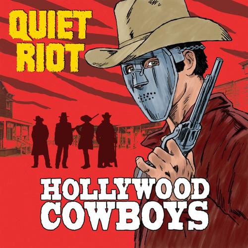 Caratula para cd de Quiet Riot - Hollywood Cowboys