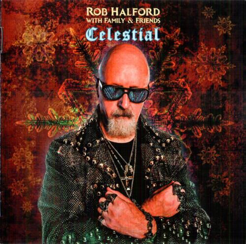 Caratula para cd de Rob Halford - Celestial