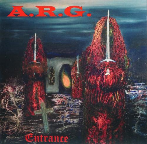 Caratula para cd de A.R.G. - Entrance